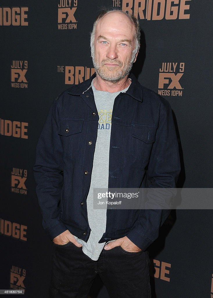 Actor Ted Levine arrives at the FX's 'The Bridge' Season 2 Premiere at Pacific Design Center on July 7, 2014 in West Hollywood, California.