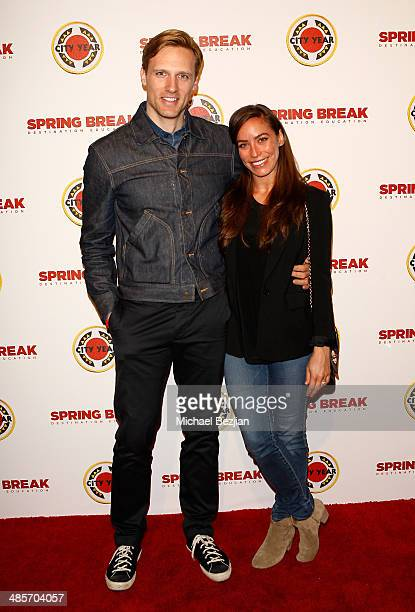 Actor Teddy Sears and Melissa Sears attend the City Year Los Angeles 'Spring Break' Fundraiser at Sony Studios on April 19 2014 in Los Angeles...