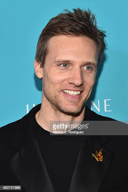Actor Teddy Sears attends the 17th Costume Designers Guild Awards with presenting sponsor Lacoste at The Beverly Hilton Hotel on February 17 2015 in...