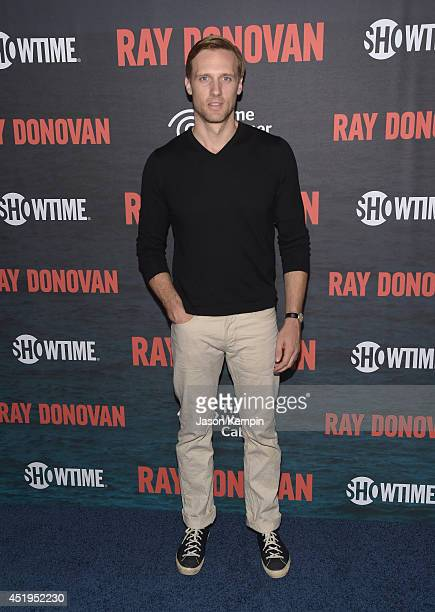 Actor Teddy Sears attends the Season 2 Premiere Of Showtime's 'Ray Donovan' at Nobu Malibu on July 9 2014 in Malibu California