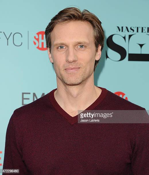 Actor Teddy Sears attends the Showtime and Sony Pictures Television's 'Masters Of Sex' screening at Cary Grant Theater on May 5 2015 in Culver City...