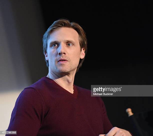 Actor Teddy Sears speaks at the screening of Showtime and Sony Pictures Television's 'Masters Of Sex' at the Cary Grant Theater on May 5 2015 in...