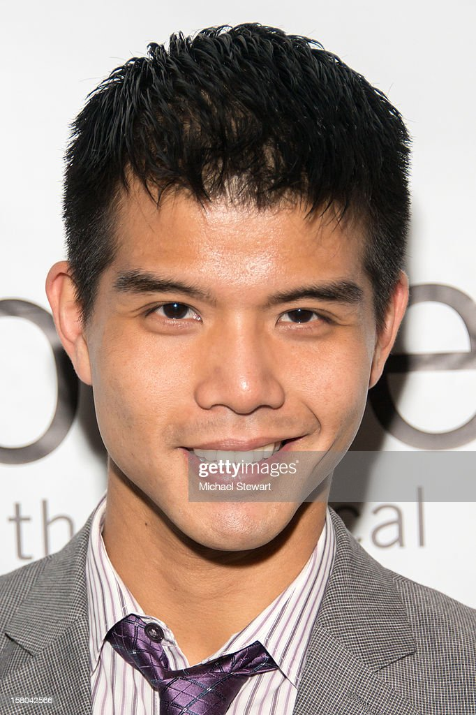 Actor <a gi-track='captionPersonalityLinkClicked' href=/galleries/search?phrase=Telly+Leung&family=editorial&specificpeople=706226 ng-click='$event.stopPropagation()'>Telly Leung</a> attends 'BARE The Musical' Opening Night at New World Stages on December 9, 2012 in New York City.