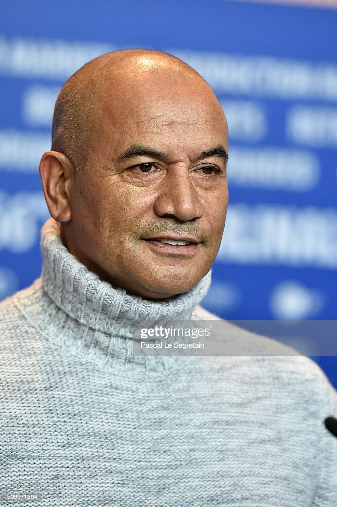 Actor <a gi-track='captionPersonalityLinkClicked' href=/galleries/search?phrase=Temuera+Morrison&family=editorial&specificpeople=4754416 ng-click='$event.stopPropagation()'>Temuera Morrison</a> attends the 'The Patriarch' (Mahana) press conference during the 66th Berlinale International Film Festival Berlin at Grand Hyatt Hotel on February 13, 2016 in Berlin, Germany.