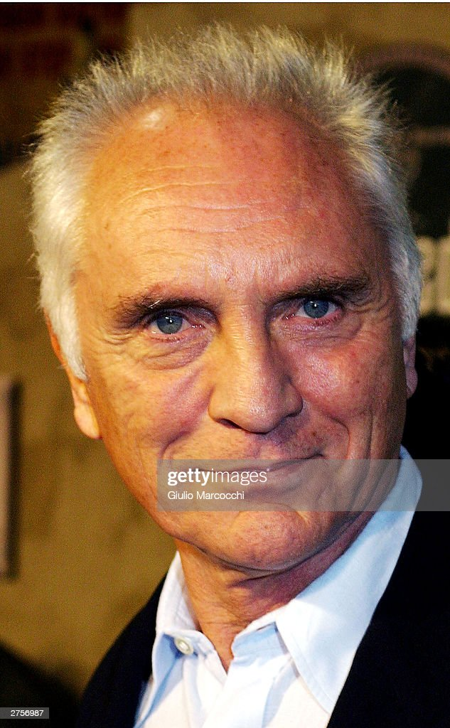 Actor Terence Stamp attends the world film premiere of 'The Haunted Mansion' at the El Capitan Theatre on November 23, 2003 in Hollywood, California.