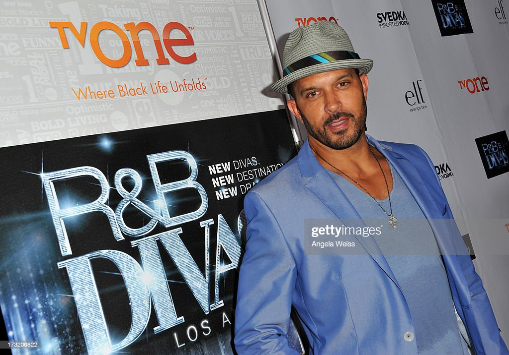 Actor Terrell Tilford attends the 'R&B Divas LA' premiere event at The London on July 9, 2013 in West Hollywood, California.
