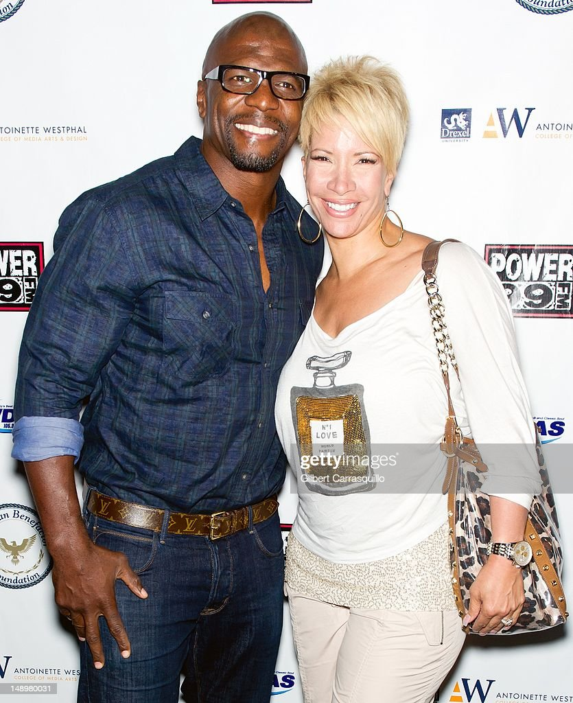 Actor Terrence Alan 'Terry' Crews and wife/TV personality Rebecca King Crews attend the American Benefactor Foundation 'I WILL Be Great Leaders' Ceremony honoring Charles Alston at Drexel University on July 20, 2012 in Philadelphia, Pennsylvania.