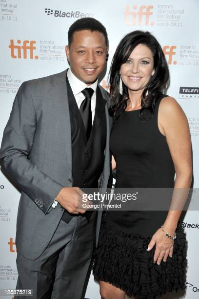 Actor Terrence Howard and actress Wendy Crewson arrive at the 'Winnie' Premiere during the 2011 Toronto International Film Festival held at Roy...