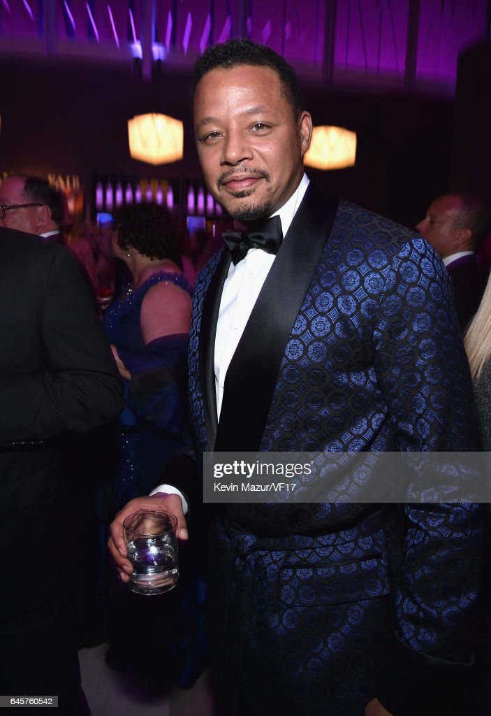 Actor Terrence Howard attends the 2017 Vanity Fair Oscar Party hosted by Graydon Carter at Wallis Annenberg Center for the Performing Arts on February 26, 2017 in Beverly Hills, California.