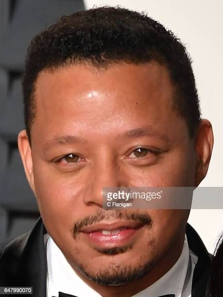 Actor Terrence Howard attends the 2017 Vanity Fair Oscar Party hosted by Graydon Carter at Wallis Annenberg Center for the Performing Arts on...