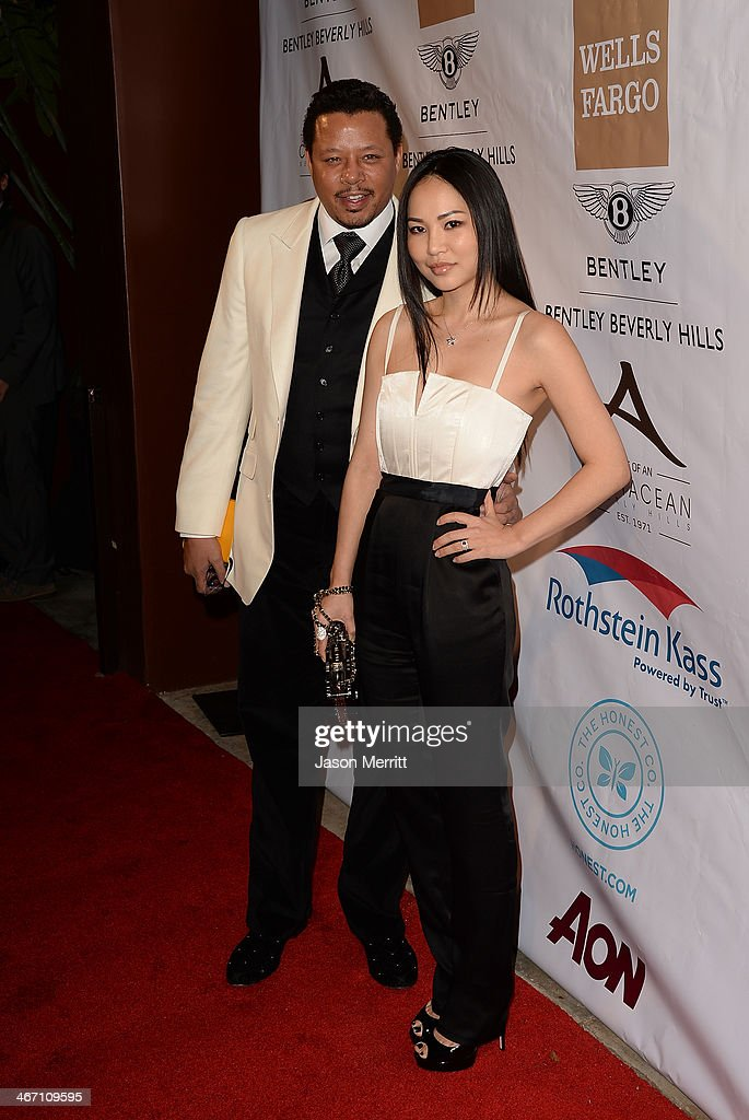 Actor Terrence Howard attends the