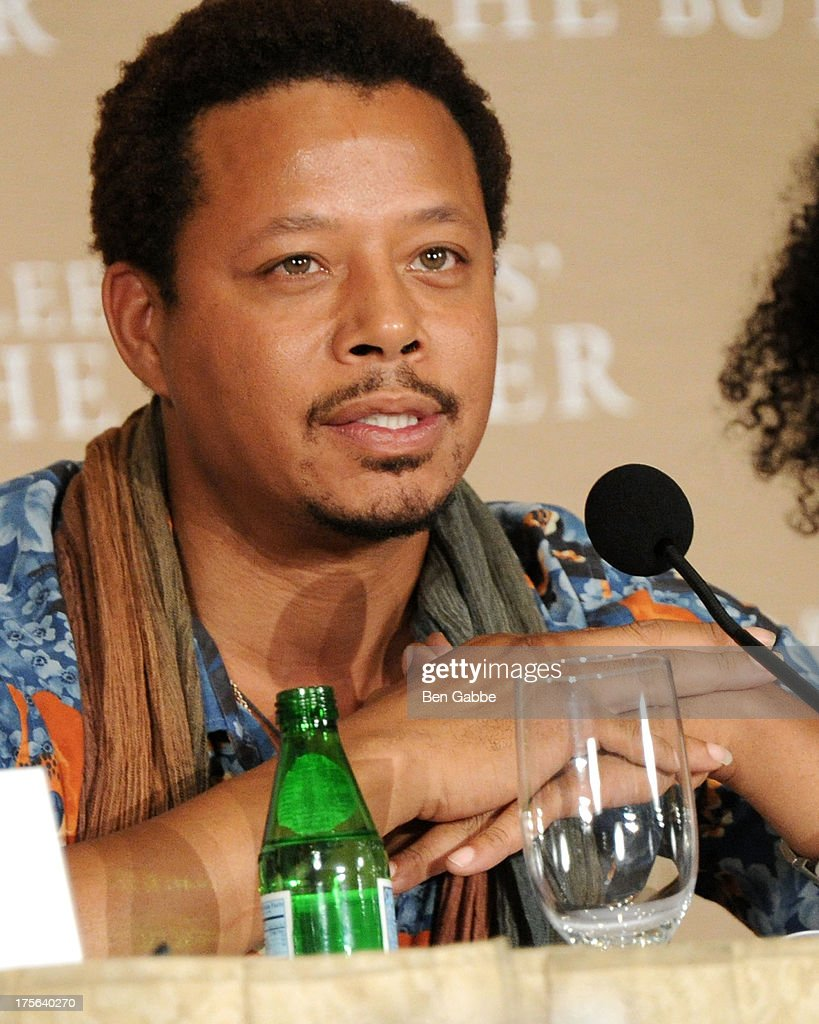 Actor Terrence Howard attends the press conference for The Weinstein Company's LEE DANIELS' THE BUTLER at Waldorf Astoria Hotel on August 5, 2013 in New York City.