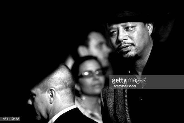 Actor Terrence Howard attends the red carpet premiere of 'Empire' held at ArcLight Cinemas Cinerama Dome on January 6 2015 in Hollywood California