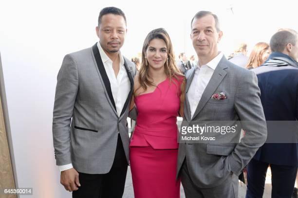 Actor Terrence Howard Global Brand Equity Marketing Jewellery and Communication Director at Piaget Chabi Nouri and CEO of Piaget Philippe...