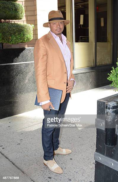 Actor Terrence Howard is seen on September 11 2015 in New York City