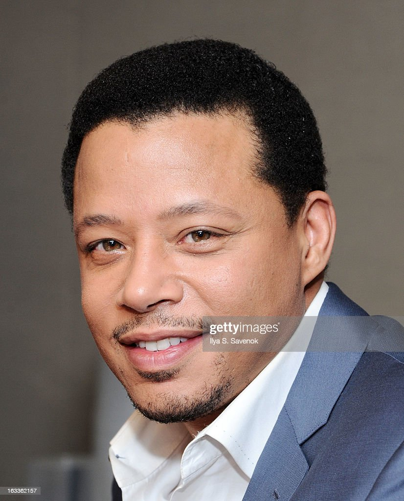 Actor <a gi-track='captionPersonalityLinkClicked' href=/galleries/search?phrase=Terrence+Howard&family=editorial&specificpeople=215196 ng-click='$event.stopPropagation()'>Terrence Howard</a> visits 'The Morning Jolt With Larry Flick' at the SiriusXM Studios on March 8, 2013 in New York City.