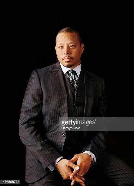 Actor Terrence Howardfrom Fox's hit show 'Empire' is photographed for Los Angeles Times on May 11 2015 in New York City PUBLISHED IMAGE CREDIT MUST...