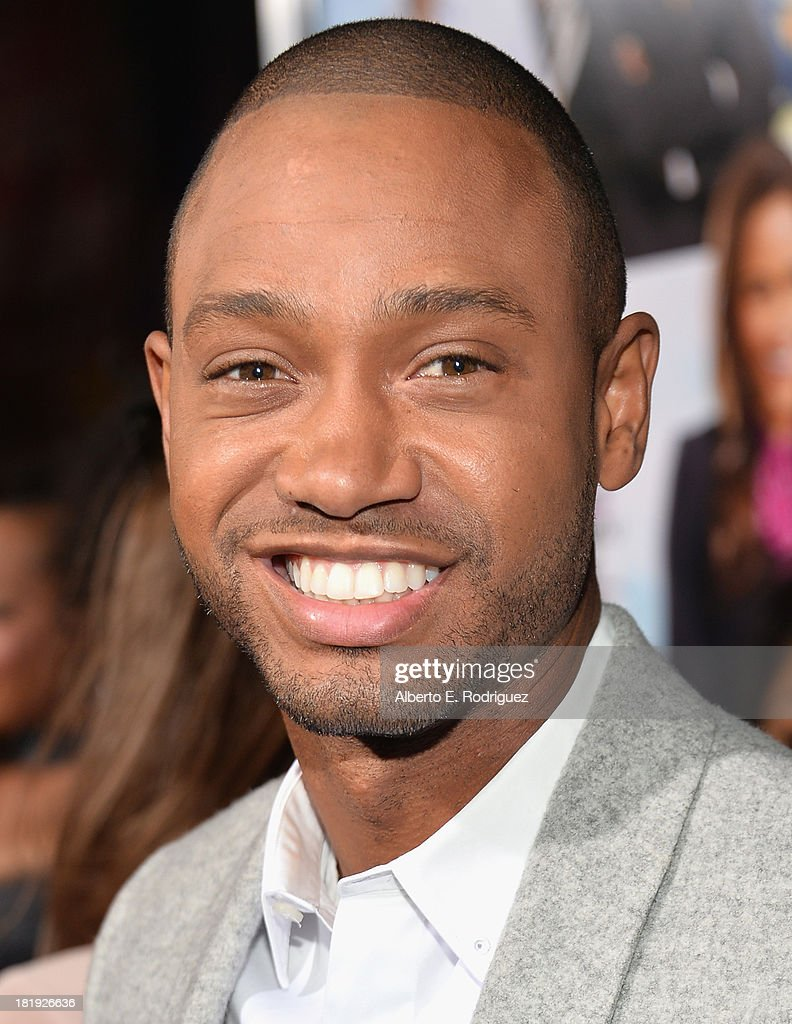 Actor <a gi-track='captionPersonalityLinkClicked' href=/galleries/search?phrase=Terrence+J&family=editorial&specificpeople=4419581 ng-click='$event.stopPropagation()'>Terrence J</a>. attends the premiere of Fox Searchlight Pictures' 'Baggage Claim' at Regal Cinemas L.A. Live on September 25, 2013 in Los Angeles, California.
