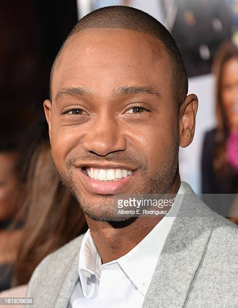 Actor Terrence J attends the premiere of Fox Searchlight Pictures' 'Baggage Claim' at Regal Cinemas LA Live on September 25 2013 in Los Angeles...