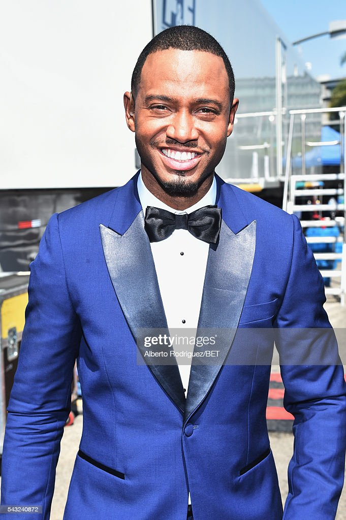 Actor <a gi-track='captionPersonalityLinkClicked' href=/galleries/search?phrase=Terrence+J&family=editorial&specificpeople=4419581 ng-click='$event.stopPropagation()'>Terrence J</a>enkins attends the 2016 BET Awards at the Microsoft Theater on June 26, 2016 in Los Angeles, California.