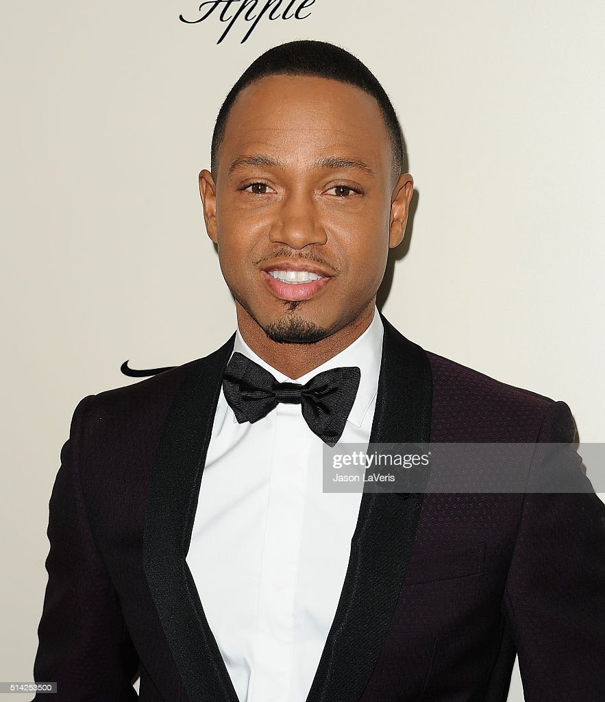 Actor Terrence Jenkins attends the premiere of 'The Perfect Match' at ArcLight Hollywood on March 7, 2016 in Hollywood, California.