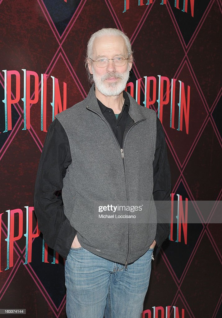 Actor Terrence Mann attends the 'Pippin' Broadway Open Press Rehearsal at Manhattan Movement & Arts Center on March 8, 2013 in New York City.