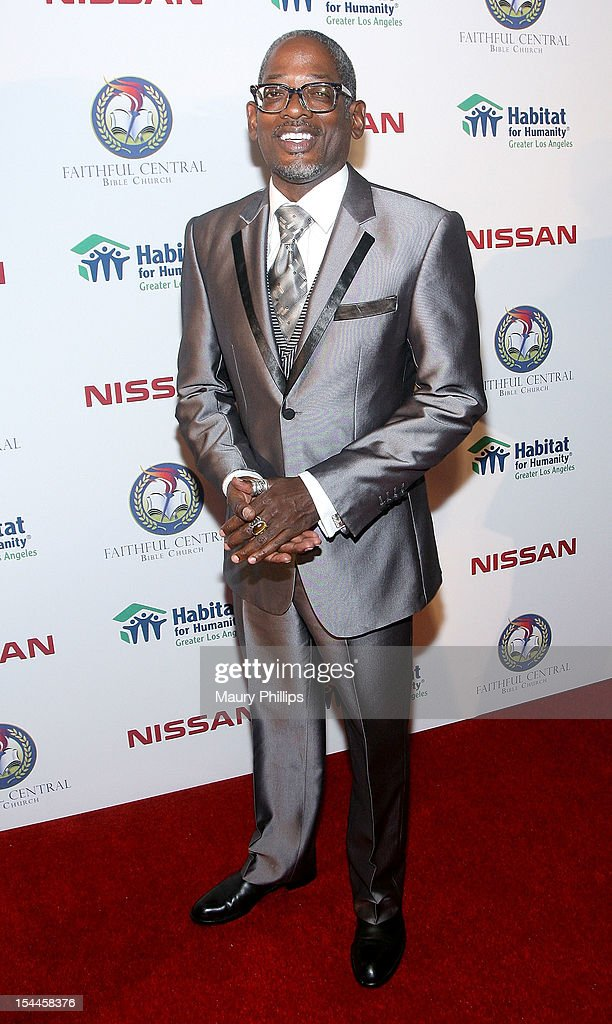 Actor Terrence 'T.C.' Carson attends the Faithful Central Bible Church Event on October 19, 2012 in Century City, California.