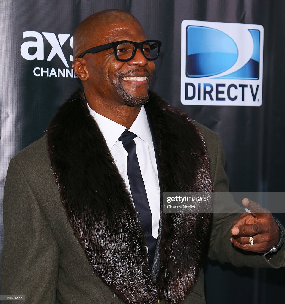 Actor Terrry Crews attends the DirecTV Super Saturday Night at Pier 40 on February 1, 2014 in New York City.