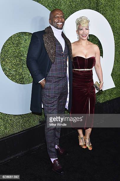 Actor Terry Crews and Rebecca Crews attend the 2016 GQ Men of the Year Party at Chateau Marmont on December 8 2016 in Los Angeles California