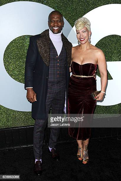 Actor Terry Crews and wife Rebecca KingCrews attend the GQ Men of the Year party at Chateau Marmont on December 8 2016 in Los Angeles California