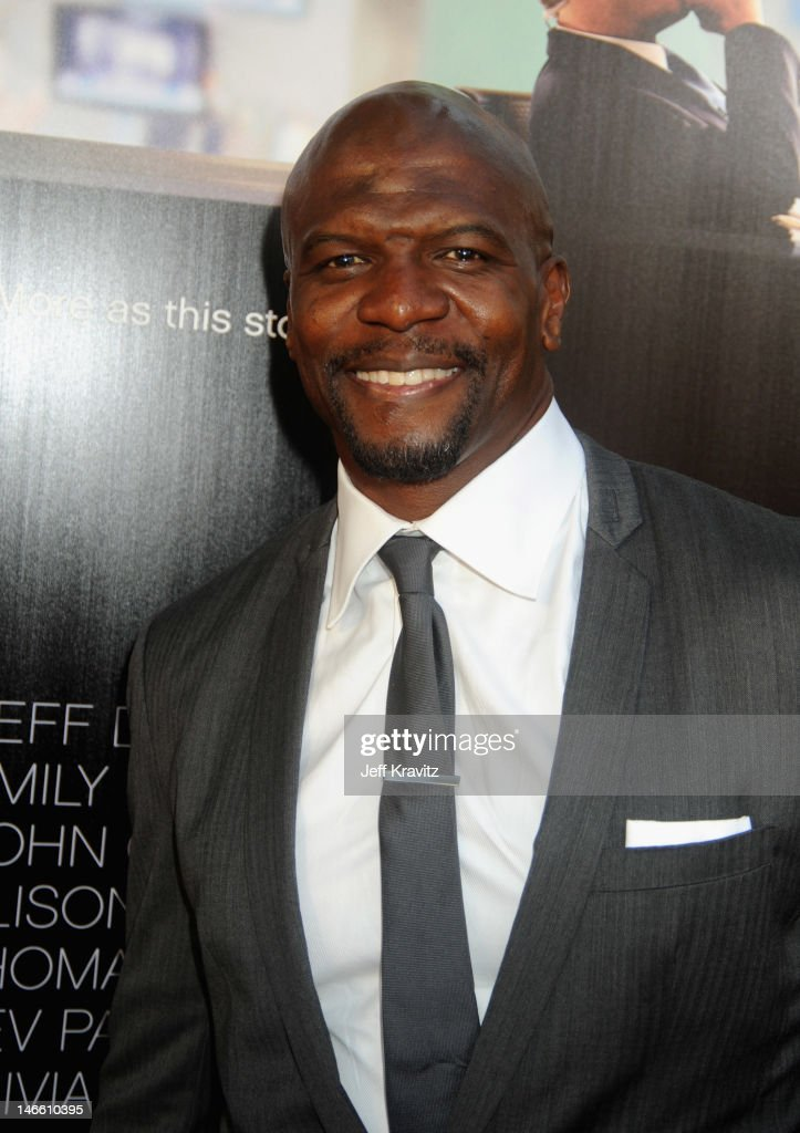 Actor <a gi-track='captionPersonalityLinkClicked' href=/galleries/search?phrase=Terry+Crews&family=editorial&specificpeople=569932 ng-click='$event.stopPropagation()'>Terry Crews</a> arrives at HBO's New Series 'Newsroom' Los Angeles Premiere at ArcLight Cinemas Cinerama Dome on June 20, 2012 in Hollywood, California.