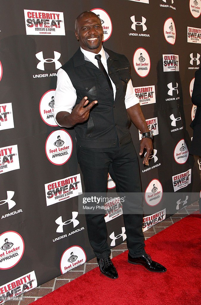 Actor <a gi-track='captionPersonalityLinkClicked' href=/galleries/search?phrase=Terry+Crews&family=editorial&specificpeople=569932 ng-click='$event.stopPropagation()'>Terry Crews</a> arrives at the 2013 ESPY Awards - After Party at The Palm on July 17, 2013 in Los Angeles, California.