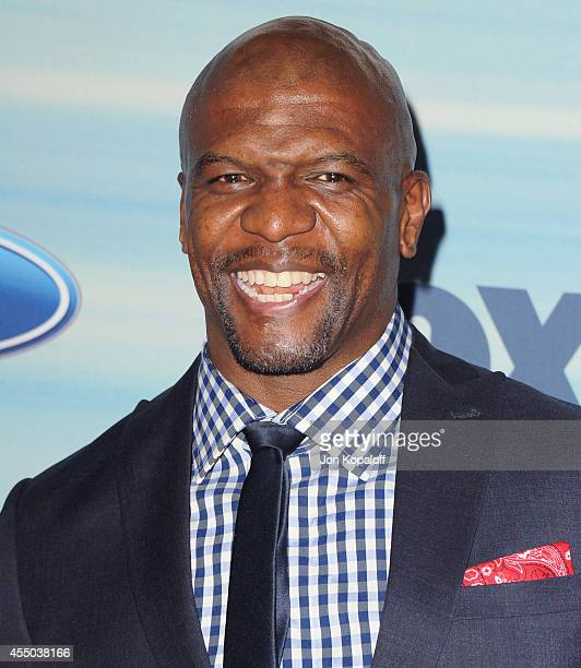Actor Terry Crews arrives at the 2014 FOX Fall EcoCasino Party at The Bungalow on September 8 2014 in Santa Monica California