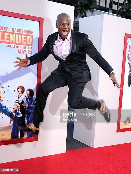 Actor Terry Crews arrives at the Los Angeles Premiere 'Blended' on May 21 2014 at TCL Chinese Theatre in Hollywood California