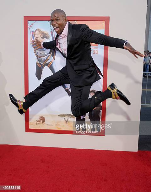 Actor Terry Crews arrives at the Los Angeles premiere of 'Blended' at TCL Chinese Theatre on May 21 2014 in Hollywood California