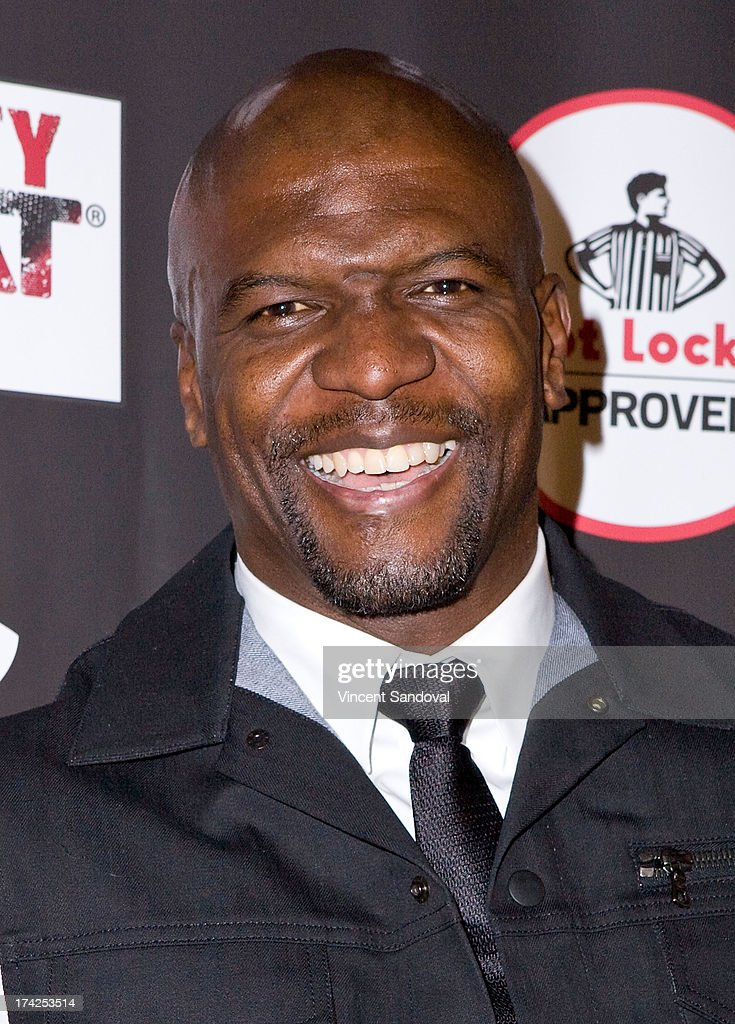 Actor <a gi-track='captionPersonalityLinkClicked' href=/galleries/search?phrase=Terry+Crews&family=editorial&specificpeople=569932 ng-click='$event.stopPropagation()'>Terry Crews</a> attends Nelly Hosts An After Party To Celebrate The ESPYS at The Palm on July 17, 2013 in Los Angeles, California.