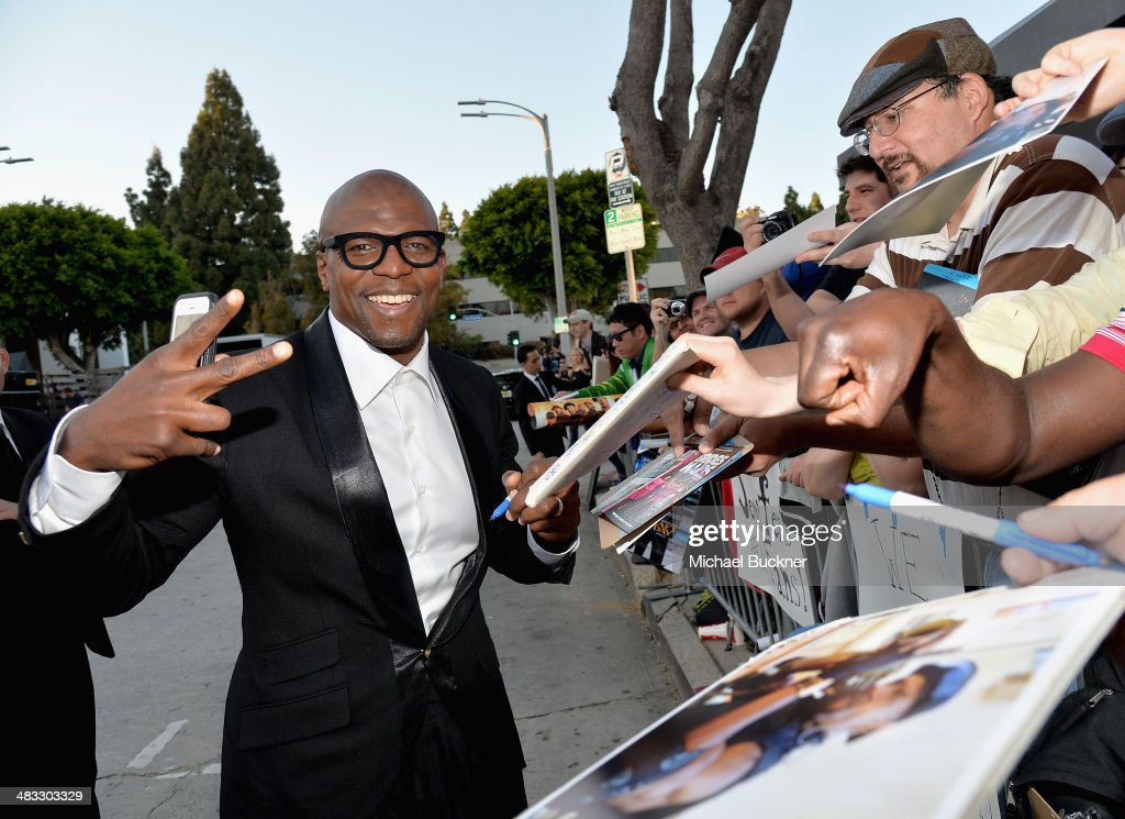 Actor <a gi-track='captionPersonalityLinkClicked' href=/galleries/search?phrase=Terry+Crews&family=editorial&specificpeople=569932 ng-click='$event.stopPropagation()'>Terry Crews</a> attends Premiere Of Summit Entertainment's 'Draft Day' at Regency Bruin Theatre on April 7, 2014 in Los Angeles, California.