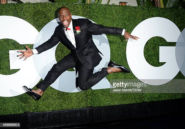 Actor Terry Crews attends the 2014 GQ Men Of The Year party at Chateau Marmont on December 4 2014 in Los Angeles California