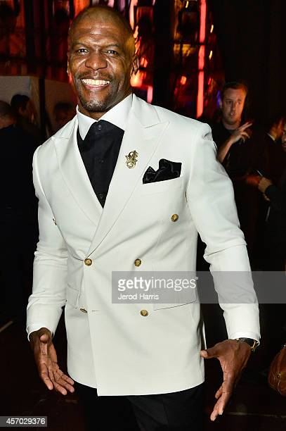 Actor Terry Crews attends the 2014 NCLR ALMA Awards at the Pasadena Civic Auditorium on October 10 2014 in Pasadena California
