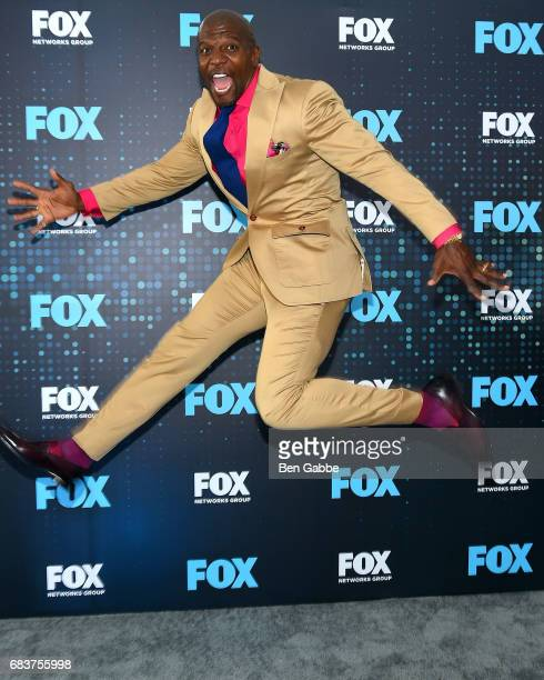 Actor Terry Crews attends the 2017 FOX Upfront at Wollman Rink on May 15 2017 in New York City