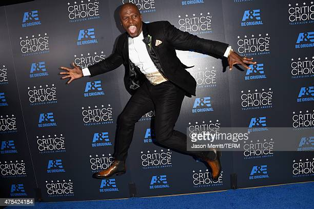 Actor Terry Crews attends the 5th Annual Critics' Choice Television Awards at The Beverly Hilton Hotel on May 31 2015 in Beverly Hills California