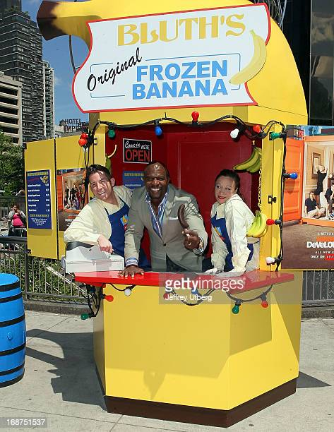 Actor Terry Crews attends the 'Arrested Development' Bluth's Original Banana Stand Second Location New York City Opening at Columbus Circle on May 14...