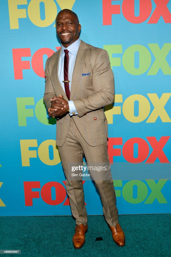 Actor <a gi-track='captionPersonalityLinkClicked' href=/galleries/search?phrase=Terry+Crews&family=editorial&specificpeople=569932 ng-click='$event.stopPropagation()'>Terry Crews</a> attends the FOX 2014 Programming Presentation at the FOX Fanfront on May 12, 2014 in New York City.