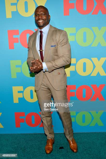 Actor Terry Crews attends the FOX 2014 Programming Presentation at the FOX Fanfront on May 12 2014 in New York City