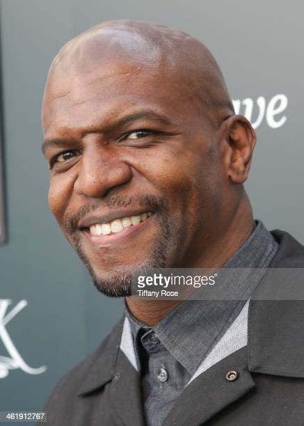 Actor Terry Crews attends the GBK Pilot Pen PreGolden Globe Gift Lounge on January 11 2014 in Beverly Hills California