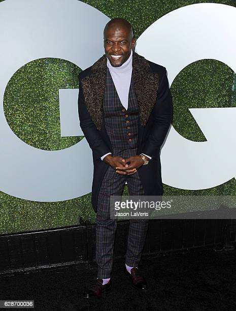 Actor Terry Crews attends the GQ Men of the Year party at Chateau Marmont on December 8 2016 in Los Angeles California