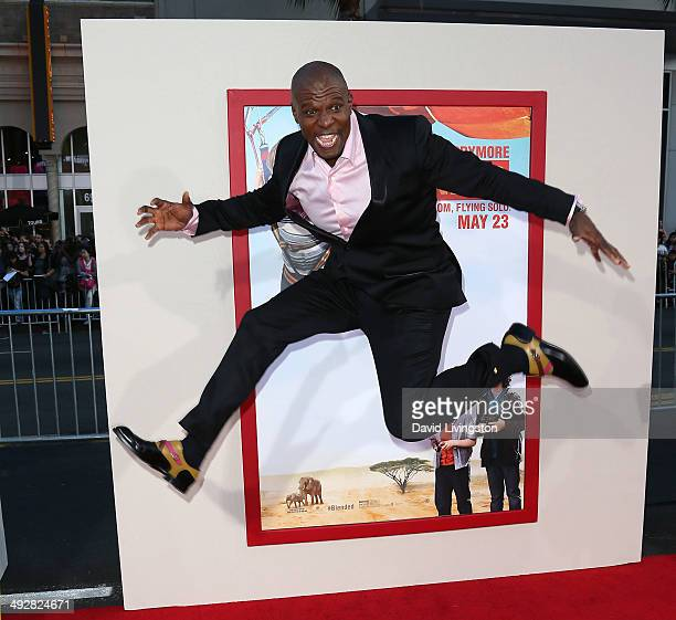 Actor Terry Crews attends the Los Angeles premiere of 'Blended' at the TCL Chinese Theatre on May 21 2014 in Hollywood California