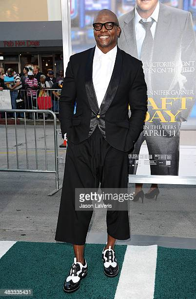Actor Terry Crews attends the premiere of 'Draft Day' at Regency Bruin Theatre on April 7 2014 in Los Angeles California