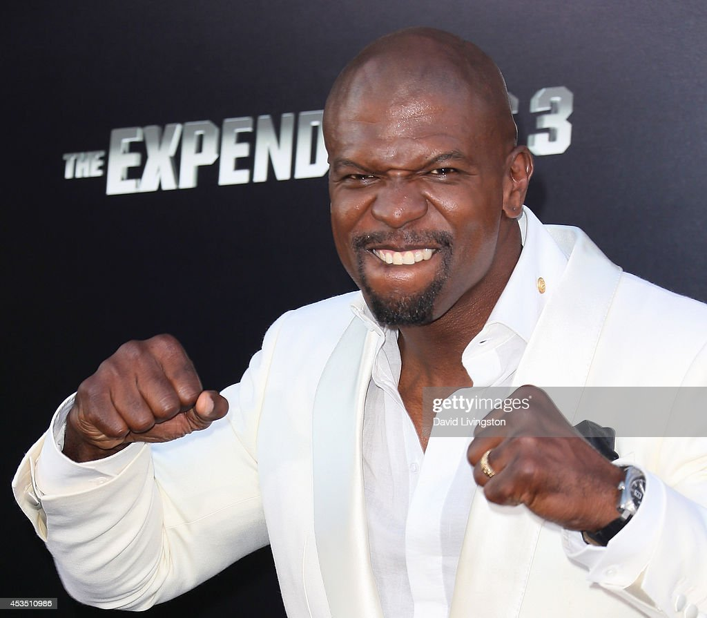 Actor <a gi-track='captionPersonalityLinkClicked' href=/galleries/search?phrase=Terry+Crews&family=editorial&specificpeople=569932 ng-click='$event.stopPropagation()'>Terry Crews</a> attends the premiere of Lionsgate Films' 'The Expendables 3' at the TCL Chinese Theatre on August 11, 2014 in Hollywood, California.