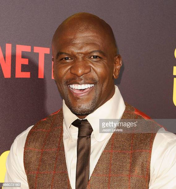 Actor Terry Crews attends the premiere of 'Sandy Wexler' at ArcLight Cinemas Cinerama Dome on April 6 2017 in Hollywood California